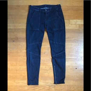 7 For All Mankind Skinny Jeans with Ankle zippers